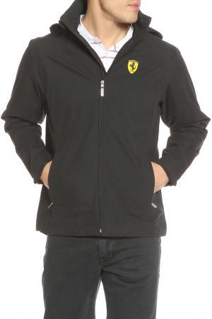 Куртка Ferrari. Цвет: черный