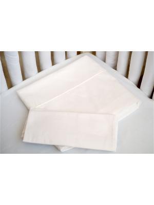 Постельное белье Plain white Cloud factory. Цвет: белый