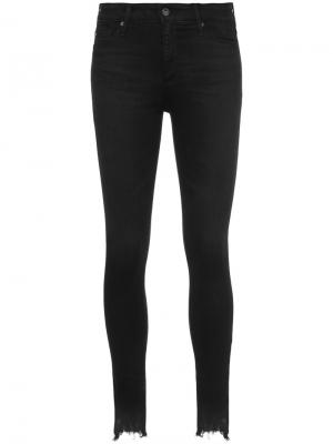 High-rise skinny jeans Ag. Цвет: чёрный