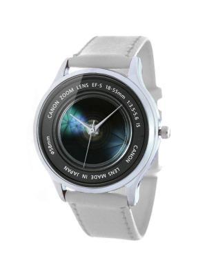 Дизайнерские часы Фотолинза Tina Bolotina. Цвет: синий, серый, белый
