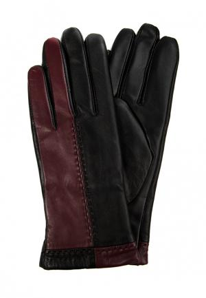Перчатки Marco Bonne`. Цвет: бордовый