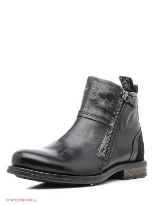 Ботинки Sneaky Steve. Цвет: черный, антрацитовый