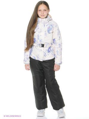 Куртка Stayer. Цвет: бежевый, серый, фиолетовый