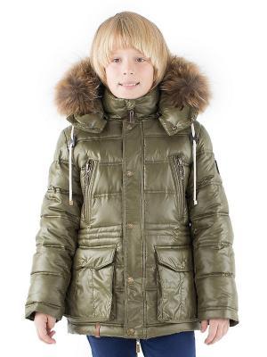Куртка Pulka. Цвет: хаки