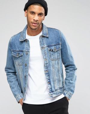 BOY London Джинсовая куртка. Цвет: синий