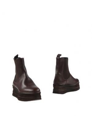 Полусапоги и высокие ботинки PANTOFOLA D'ORO. Цвет: какао