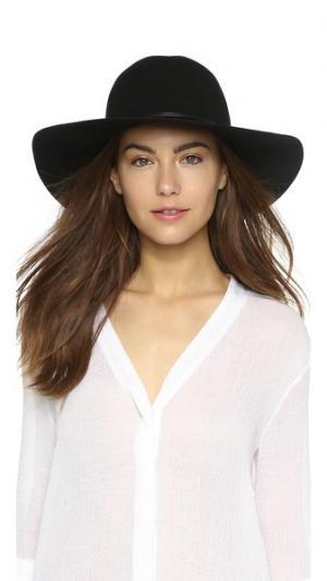 Широкополая шляпа с круглой тульей из шерстяного фетра Hat Attack