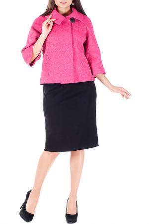 Комплект: жакет, платье Mannon. Цвет: розовый