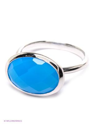 Кольцо Migura. Цвет: синий, серебристый