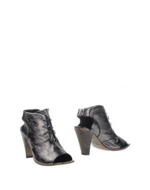 Полусапоги и высокие ботинки CHIARINI BOLOGNA. Цвет: свинцово-серый