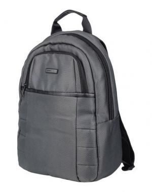 Рюкзаки и сумки на пояс MOMO DESIGN. Цвет: стальной серый
