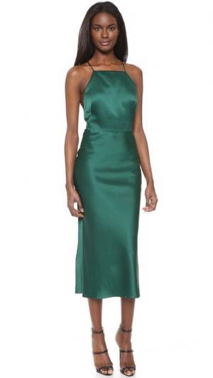 Коктейльное платье без рукавов Jason Wu. Цвет: нефритовый