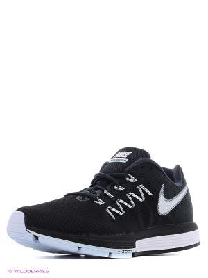 Кроссовки Nike Air Zoom Vomero. Цвет: черный, голубой