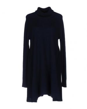 Короткое платье MADELEINE THOMPSON. Цвет: темно-синий
