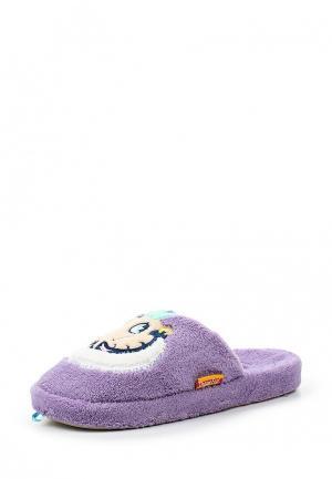 Тапочки Dream Feet. Цвет: фиолетовый
