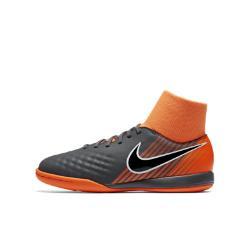 Футбольные бутсы для игры на крытом корте дошкольников/школьников  Jr. Magista ObraX II Academy Dynamic Fit IC Nike. Цвет: серый