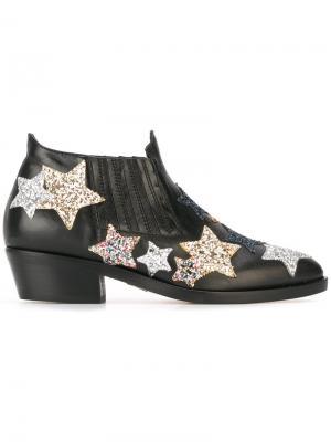 Ботинки Camperos Chiara Ferragni. Цвет: чёрный