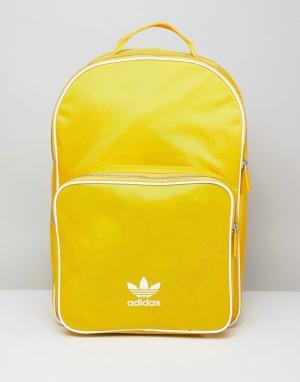 Adidas Originals Желтый рюкзак CW0634. Цвет: желтый