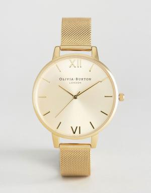 Olivia Burton Золотистые часы. Цвет: золотой