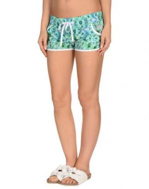 Пляжные брюки и шорты SUNDEK. Цвет: светло-зеленый