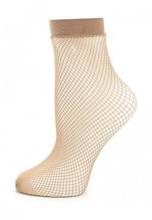 Носки Baon. Цвет: бежевый