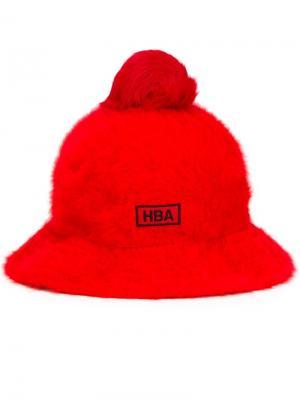 Шляпа Hood by Air x Kangol. Цвет: красный