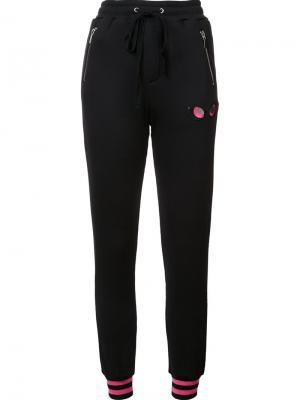Спортивные брюки Stand Up Thomas Wylde. Цвет: чёрный