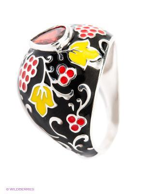 Кольцо SOKOLOV. Цвет: черный, красный, желтый