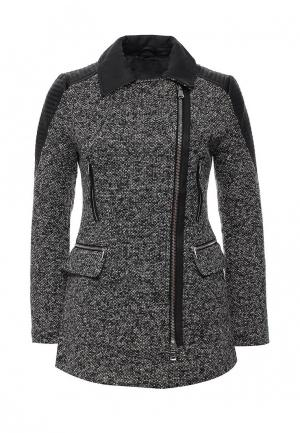 Пальто B.Style. Цвет: серый