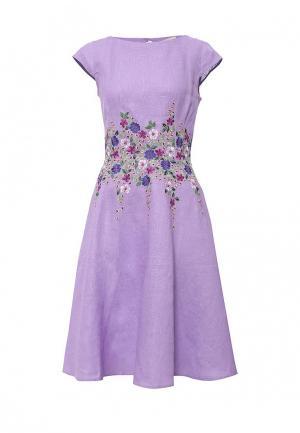 Платье Indiano Natural. Цвет: фиолетовый