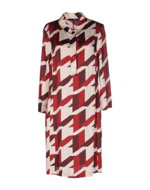Короткое платье .TESSA. Цвет: красный