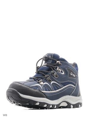 Ботинки QWEST. Цвет: синий, темно-серый
