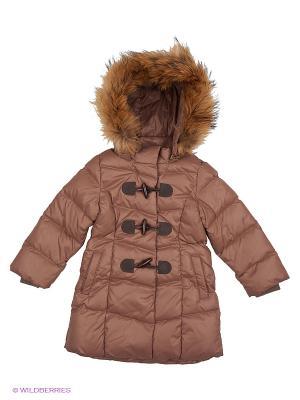 Пальто Зарина Аксарт. Цвет: коричневый