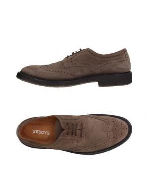 Обувь на шнурках SEBOY'S. Цвет: хаки