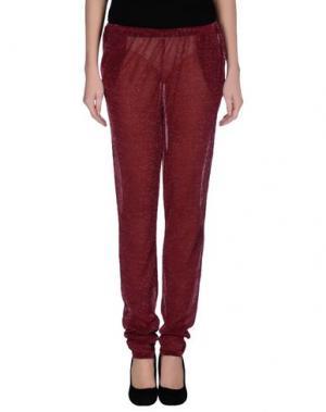 Повседневные брюки CIRCUS HOTEL. Цвет: пурпурный
