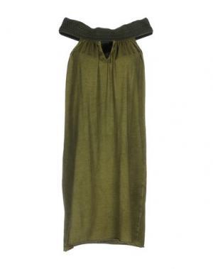 Короткое платье JIJIL. Цвет: зеленый-милитари