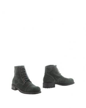 Полусапоги и высокие ботинки DEL GATTO. Цвет: зеленый