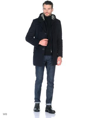 Пальто Sainy. Цвет: синий
