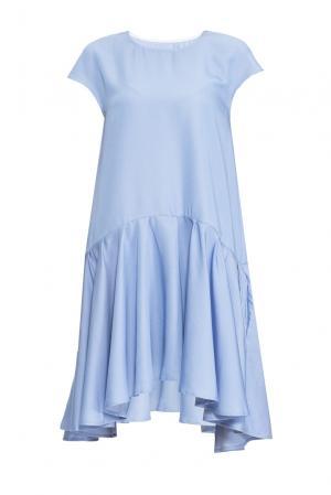 Платье 164344 Anna Dubovitskaya. Цвет: синий