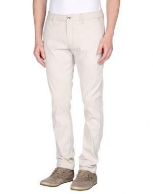 Повседневные брюки FRADI. Цвет: песочный
