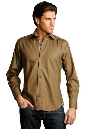 Рубашка GAZOIL. Цвет: зеленый