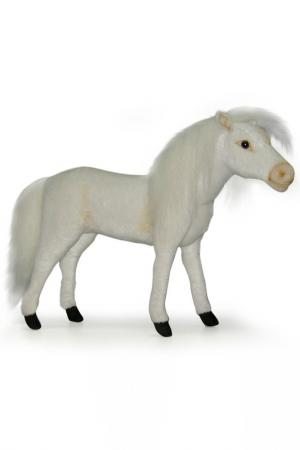 Лошадь Hansa. Цвет: белый