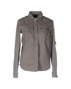 Pубашка SHI 4. Цвет: хаки
