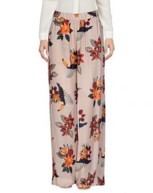 Повседневные брюки PAOLO CASALINI. Цвет: бежевый