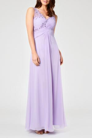 Платье Dynasty. Цвет: фиолетовый