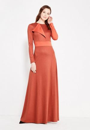 Платье Sahera Rahmani. Цвет: оранжевый