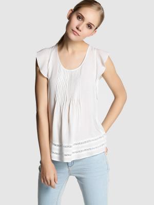 Блузка FORMULA JOVEN. Цвет: белый