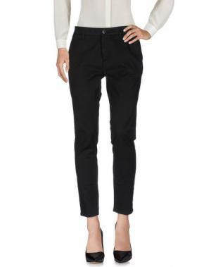 Повседневные брюки DEPARTMENT 5. Цвет: черный