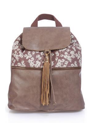 Рюкзак Rinascimento. Цвет: коричневый