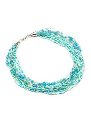 Ожерелья FOXTROT. Цвет: бирюзовый